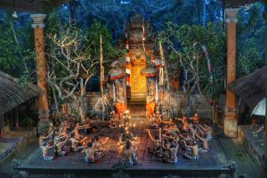 Balinese Traditional Dance - Kecak Dance.
